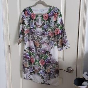 Asos petite floral dress